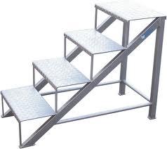 Las series en escalera mas fuerte que el hierro for Como trazar una escalera de metal